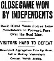 Rock Island Argus - October 28th 1912