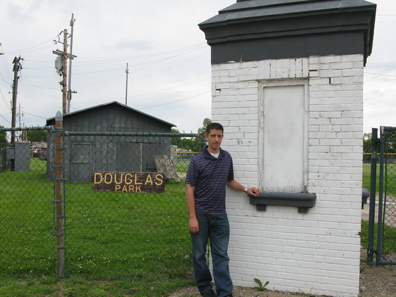 Picture of Simon at Douglas Park 2011